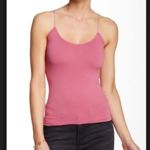Free People Intimately Pink Seamless Cami